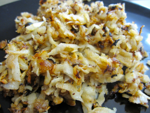 RECIPE OF THE WEEK:  HEALTHY HASH BROWNS- CELERY ROOT - CALGARY PERSONAL TRAINER