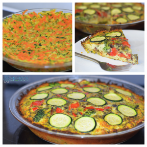 RECIPE OF THE WEEK:   Zucchini Carrot Crust Quiche  - CALGARY PERSONAL TRAINER