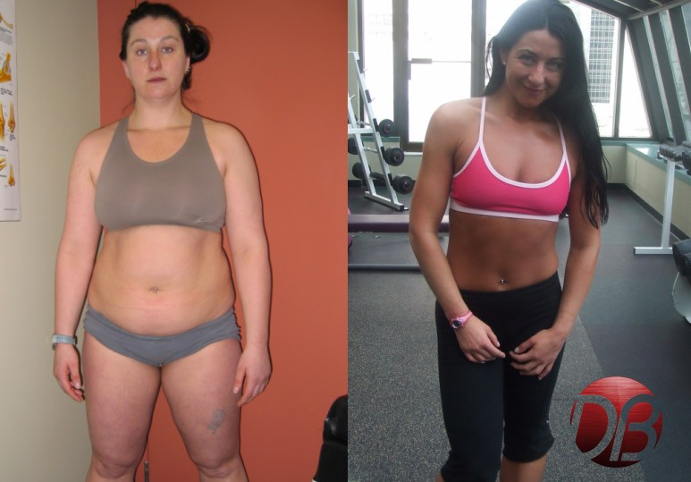 Calgary Personal Training Transformation: Andrea