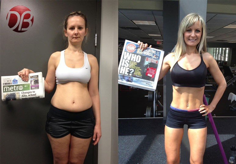 Calgary Personal Training Transformation: Katarina