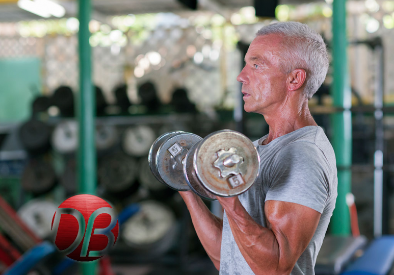 Forever Young: 70-Year-Old Body Builder Hits The Gym