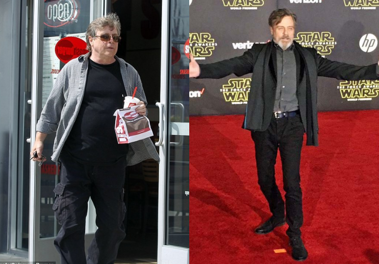 Mark Hamill's Dramatic Transformation