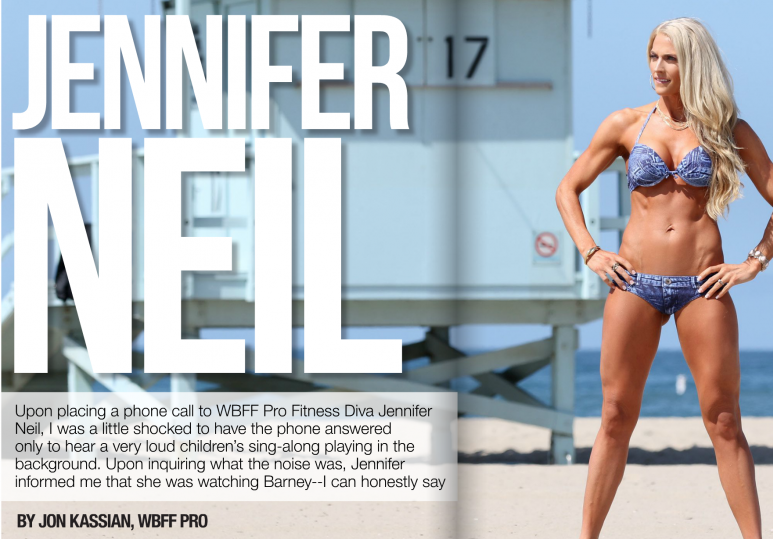 Jennifer Neil Featured in Fit N Firm