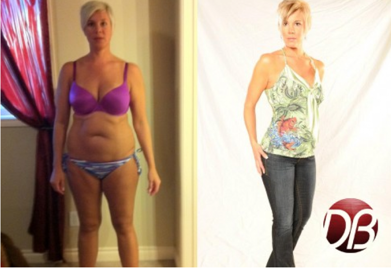 Calgary Personal Training Transformation: Dulcee