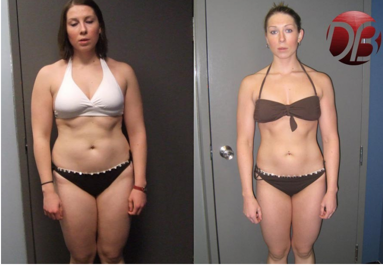 Calgary Personal Training Transformation: Jennifer