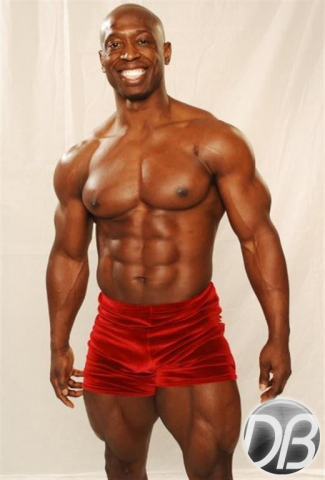 Abs red shorts