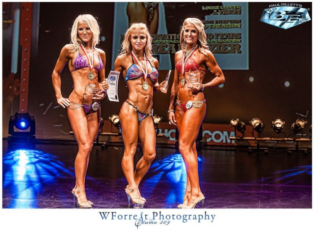 2nd Place Fitness WBFF Edmonton 2012