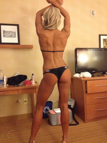 Black Bikini Back