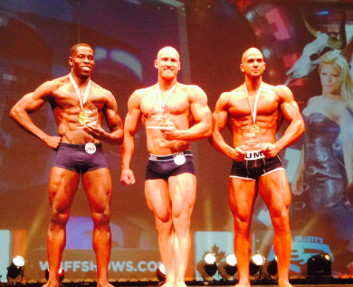 Calgary WBFF SHOW 2014 DreamBody Team Results